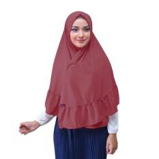 Hijab Taj Mahal Kerudung Instan - [Warna Marun]