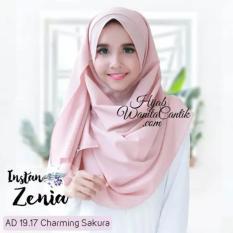 Hijab Zenia Instan/ Kerudung Langsung Pakai