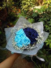HIJABBASIC Bouquet Hijab Buket Hijab - Wisuda Wedding Lamaran Graduation Ultah Hadiah Souvenir Kado Hantaran