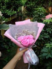 HIJABBASIC Buket Hijab Bouquet Hijab - Wisuda Wedding Anniversary Lamaran Graduation Kado Ultah
