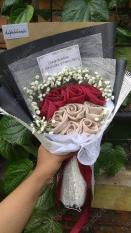 HIJABBASIC Buket Hijab Bouquet Hijab - Wisuda Wedding Hantaran Lamaran Ultah Souvenir Anniversary Graduation