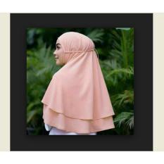Harga Hijab Jilbab Instan Rubiah 2Layer Termurah