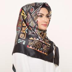 Hijabstore - Moshaict By Itang Yunasz AL 285 - Black Tribal Pattern