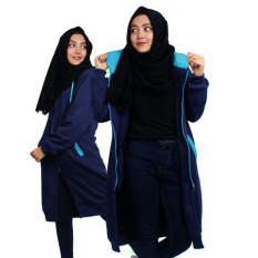Harga Hijacket Jaket Hijab Hj 2 Navy Turkish Flowink Indonesia