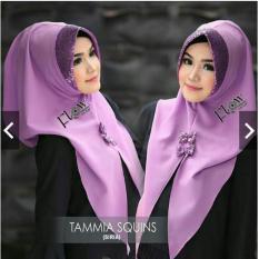 hijab/khimar instan pita squin elegan