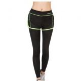 Harga Hijau Perempuan Yoga Legging Olahraga Lari Latihan Lari Aerobik Latihan Kecepatan Udara Kering Di The Sports Pants Ketat Online Tiongkok
