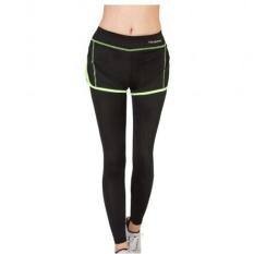 Toko Hijau Perempuan Yoga Legging Olahraga Lari Latihan Lari Aerobik Latihan Kecepatan Udara Kering Di The Sports Pants Ketat Termurah