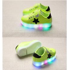 Toko Hijau Stabilo Sepatu Anak Led Nyala Lampu Sekolah Main Casual Sneaker Olahraga Jalan Sepatu Anak Pria Wanita Laki Perempuan Cowok Cewek Kado Ulang Tahun Universal Di Indonesia