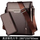 Toko Hill Korea Fashion Style Pria Kasual Messenger Tas Tas Pria Kulit Coklat Besar Untuk Mengirim Tas Tangan Kulit Coklat Besar Untuk Mengirim Tas Tangan Terlengkap Tiongkok