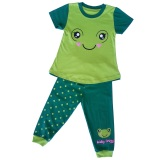 Iklan Himawari Dessan Face Animal Frog Long Pants Hijau