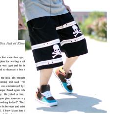 Jual Hip Hop Hip Hop Laki Laki Untuk Meningkatkan Lima Celana Celana Celana Pendek Tengkorak Model Hitam Di Tiongkok