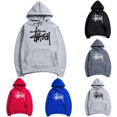 Harga Hip Hop Men S Fashion Hoodies Stussy Skateboard Clothing Boys Girls Loose Sports Sweater Size M Xxl Intl Yg Bagus
