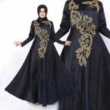 Jual Beli Hirani Collection Baju Muslim Gamis Jeffery Wanita Saten Bridal Sleting Belakang