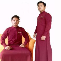 Hisan Jubah Hg03 Merah Maroon Jawa Tengah