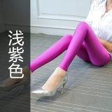 Review Celana Mengkilap Wanita Berkilau Tak Berkilau Aneka Warna Model Tipis Dipertebal Ditambah Beludru Ungu Muda Di Tiongkok