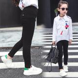 Diskon Celana Pensil Musim Semi Perempuan Dan Gugur Bottoming Celana Modis Lee Jeans Hitam Branded