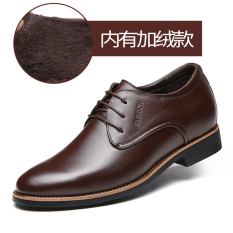 Beli Hitam Pria Setelan Bisnis Pria Sepatu Pasang Coklat Ditambah Beludru Sepatu Pria Sepatu Kulit Sepatu Kerja Sepatu Formal Pria Cicilan