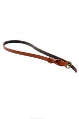 HKS Buatan Kulit Tipis Skinny Pinggang Belt (Brown)-Intl