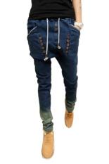 Jual Hks Longgar Celana Jeans Pensil Biru Import