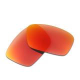 Beli Hkuco Mens Polarized Penggantian Lensa Untuk Model Sel Bahan Bakar Sunglasses Lensa Merah Intl Kredit