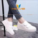 Spesifikasi Hkye Shoes Kets Nr07 Sepatu Sneaker Wanita Sepatu Kets Cewek Warna Putih Hot Sale Baru