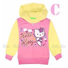 hm 26c pakaian anak permpuan / baju jaket kaos hoodie hello kitty