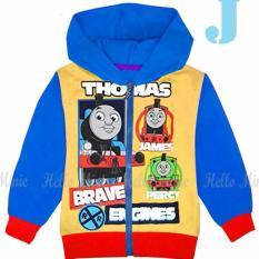 hm 26j pakaian anak laki laki / jaket kaos hoodie thomas and friends