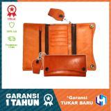 Promo Hm Leather Dompet Pria Kulit Asli Berkualitas Tinggi Model K01 Cream Di Yogyakarta