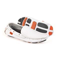 Harga Termurah Hmc 512 Sepatu Slip On Pria Putih