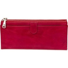 Hobo Womens Leather Vintage Taylor Clutch Dompet (Kardinal)-Intl