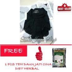 HOKI COD - Munafie Slim Pant Celana Korset - All Size - Hitam FREE Teh Daun Jati Cina - 1 Pcs