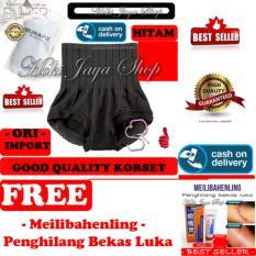 HOKI COD - Munafie Slim Pant Celana Korset - All Size - Hitam + Gratis Meilibahenling - Penghilang