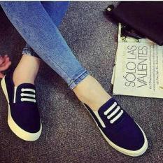 Rp 65.500. Hokky Shoes Girl KETS/ Slip On Casual Wanita - Sepatu CEWEK Santai/ Sepatu Cewek ON KETS JEANS TALI ...