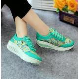 Beli Hokkyershoes Kets Wanita Sporty Sepatu Cewek Casual Motif Bunga Sds166 Kredit Sulawesi Selatan
