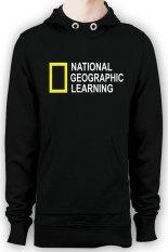 Jual Hollic Cloth Hoodie Nat Geo Learning Hitam Branded Murah