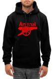 Toko Hollic Cloth Hoodie Pria Arsenal Hitam Online Dki Jakarta