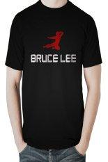 Jual Hollic Cloth Tshirt Pria Bruce Lee Hitam Baru