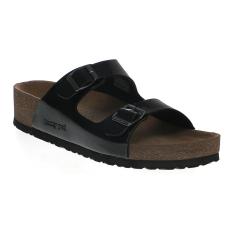 Promo Homyped Carmel 02 Women Sandals Hitam Homyped Terbaru