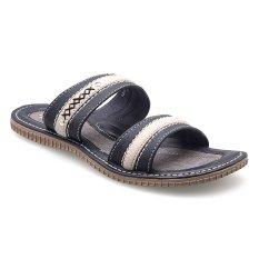 Jual Homyped Galapagos 02 Sandal Pria Hitam Satu Set
