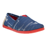 Homyped Hpl 1704 Slip On Wanita Biru Murah