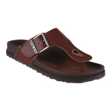 Review Homyped Navara 806 Leather Men Sandals Brown