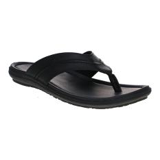 Toko Homyped Santiago 02 Sandal Pria Hitam Lengkap