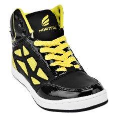 Review Terbaik Homypro Sneakers Alive Hitam Kuning