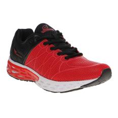Miliki Segera Homypro Victory Sepatu Lari Pria Hitam Merah