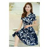 Beli Honeyclothing Dress Casual Wanita Heliz Biru Honeyclothing Murah