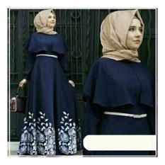 Honeyclothing Dress Muslim Wanita / Baju Gamis Muslim Wanita / Maxi Hijab Dress / Dress Muslim Andini