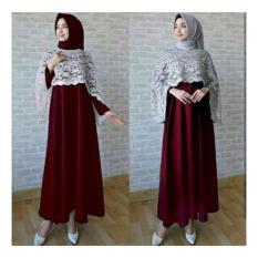 Honeyclothing Dress Wanita Dabila - BiruIDR99000. Rp 99.000 b525c85ceb