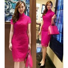Honeyclothing Dress Wanita Envy - Pink / Dress Modis / Dress Wanita / Mini Dress / Best Seller