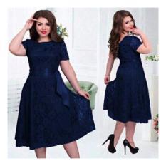 Jual Honeyclothing Dress Wanita Meli Navy Murah