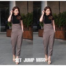 Honeyclothing Jumpsuit Wanita Misoka - Cokelat / Jumpsuit Casual / Fashion Wanita / Jumpsuit Terkini / Best seller